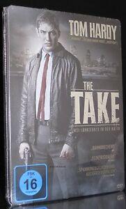 DVD THE TAKE - STEELBOOK - ZWEI JAHRZEHNTE IN DER MAFIA - TOM HARDY + BRIAN COX