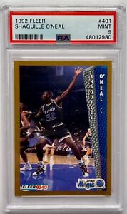 1992 Fleer Shaquille O'Neal ROOKIE RC #401 PSA 9 MINT
