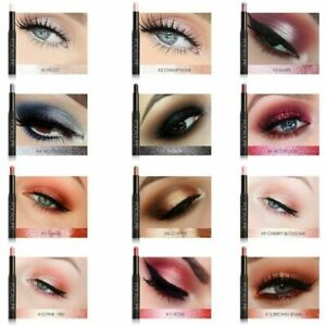 New FOCALLURE Waterproof Eyeshadow Pencil Pen Makeup Eye shadow Eyeliner beauty