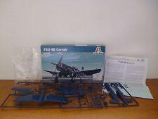 👿 Maquette F4U-4B Corsair Italeri N°062 Model Kit 1:72 Échelle Complet