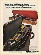 1972 Print Ad of Bear Archery Victor Take Down Hunting Bow