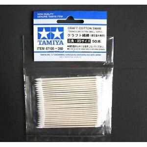 TAMIYA 87105 Cotton Swab (triangle xtra small x 50) - Tools / Accessories