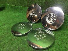 VW Radkappen Chrom Golf 1, Polo 1, Caddy 1, Cabrio, Passat, Scirocco Original