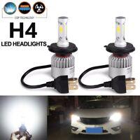 CREE H4 HB2 9003 55W 8000LM LED Headlight Kit Hi/Lo Power Bulb 6000K Super White