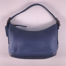 Authentic Coach Legacy Mini Duffle Handbag in Denim Blue A3P-9844