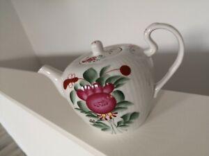 ostfriesische Rose Ostfriiesen Dekor Ostfriesland traumhafte Liter Teekanne