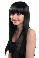 Bangs Women's Synthetic Straight Wigs & Hairpieces