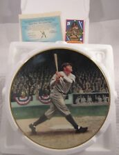 """1992 Delphi Babe Ruth: The Called Shot Plate No. 9853H 8 1/4"""" Diameter"""