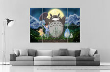 Totoro My Neighbor Wall Art Poster Grand format A0 Large Print