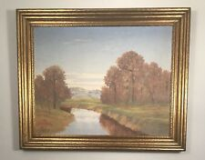 Beautiful landscape by listed Texas artist Arthur Bishop Jeffreys. Dated 1937