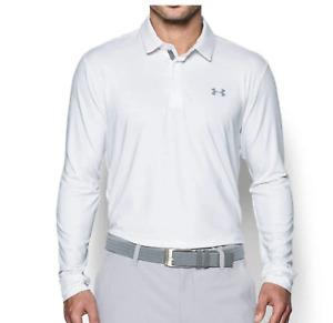 Under Armour Polo Playoff Golf Shirt Long Sleeve Choose Colors M L XL 3XL DEFECT