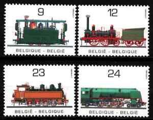BELGIUM 1985 - SET NATIONAL TRANSPORTS / RAILWAY MNH