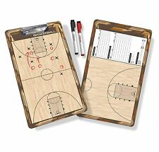 GoSports Basketball Coaches Board with Two Dry Erase Markers