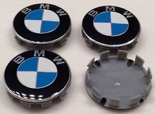 4 PCS 68mm Wheel Center Hub Caps Cover Badge Emblem For BMW