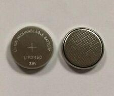 Wiederaufladbar Akku Batterie Knopfzelle // LIR2450 // 3.6V 120mAh // Ø24mm 5mm
