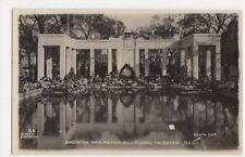 Brighton, War Memorial & Floral Tributes 1922 RP Postcard, B178