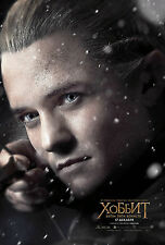 LO HOBBIT LA BATTAGLIA DELLE 5 ARMATE BATTLE OF FIVE ARMIES LEGOLAS BLOOM POSTER