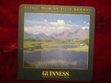 Guinness Beer Coaster Scenes from an Irish Summer