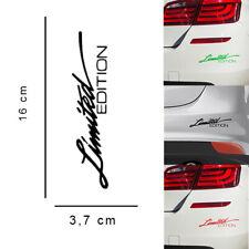 Adesivo auto Limited Edition moto vinile decalcomania scritta decorativa