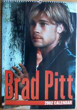 Brad Pitt Kalender 2002 Spiralbindung 30 x 42 cm 12 Poster zum Rautrennen