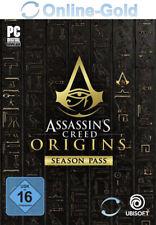 Assassin's Creed Origins Season Pass - PC Game Key Uplay Digital Code DLC EU/DE