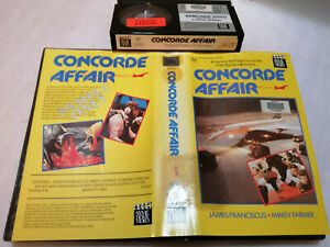 CONCORDE AFFAIR (1979) - OZ SYME Home Video - BETAMAX 1st/Only Issue - THRILLER!