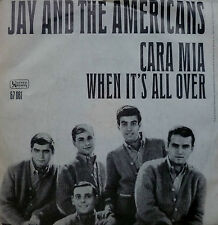 "7"" 1965 BEAT VG+? ! JAY AND THE AMERICANS : Cara Mia"