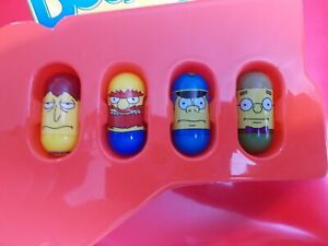 Mighty Beanz The Simpsons 4 Bean Lot #24 Sideshow Bob, #21 Willie & 2 More!