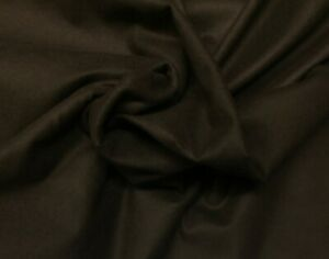 "PACIFIC ANTI TARNISH SILVER CLOTH BROWN 100% COTTON FABRIC BY 1/2(.5) YARD 40"" W"