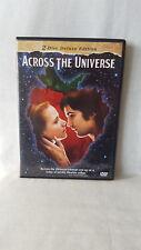 Across the Universe  ( 2 Disc Set ) DVD Evan Rachel Wood, Jim Sturge