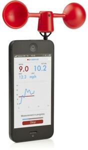 Smartphone Anemometer / Wind Gauge for iPhone, iPad & Android.