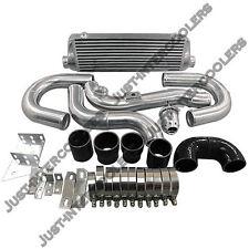 "CX 28"" x7"" x 2.5"" FMIC Intercooler Kit For 08+ Hyundai Genesis Coupe GC 2.0T"