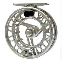 Galvan Brookie 4/5 Fly Reel - Color Clear - New
