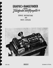 Graflex Graphic Top Mount Rangefinder & Rangelite Service & Repair Manual