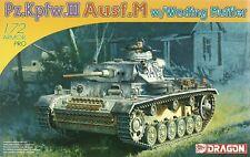 Dragon 1/72 (20mm) Pz Kpfw III Ausf M with Wading Muffler