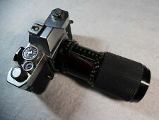 Konica Autoreflex T3 Star-D Zoom MC 1:4.5 f=80 52 No. 858894 Japan 160-2A