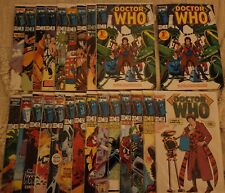 Doctor Who 1-23 Complete Run - issue 1 x2! - High Grade, CGC it! - Marvel Comics