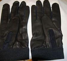 Justin® Black Deerskin Driving Gloves - XL