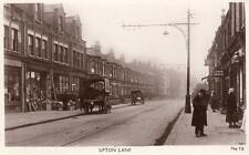 Upton Lane West Ham Forest Gate unused RP old pc D A Burbidge