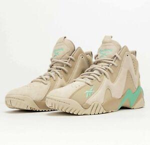 Reebok Kamikaze II Modern Beige Pixel Mint H01317 Basketball Shoes Sneakers