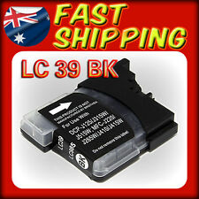 3x Ink Cartridge LC39 LC985 Black Only for Brother DCP J125 J315W J515W Printer