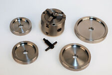 Double Quick Chuck 3-Jaw Brake Lathe Adpater- Hubless Drums /Rotors