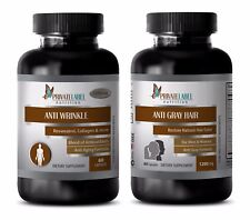 Weight loss herbs - COMBO ANTI WRINKLE – ANTI GRAY HAIR 2B - coenzyme minerals