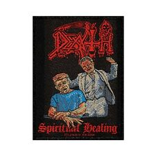 Death Spiritual Healing Patch Album Art Metal Band Music Woven Sew On Applique
