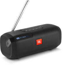 New JBL - JBLTUNERBLKAU - Portable Bluetooth Speaker with DAB/FM