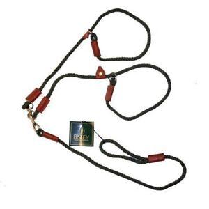 Bisley Double Slip Dog Lead - Pet Leash Walking Ouitdoors Sporting