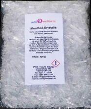 Well2wellness Sauna Mentholkristalle / Menthol Kristalle intensiv - 100 G Beutel Merken