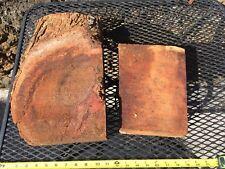 """Reclaimed Wax Sealed Ready To Turn Curly Koa Bowl Blanks 2@8-14""""x5-9x2-4"""""""