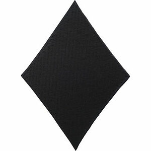 Diamond Playing Card Patch Embroidered Iron / Sew On Poker T Shirt Bag Hat Badge