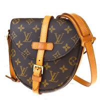 Auth LOUIS VUITTON Chantilly PM Shoulder Bag Monogram Leather BN M40646 84MD895